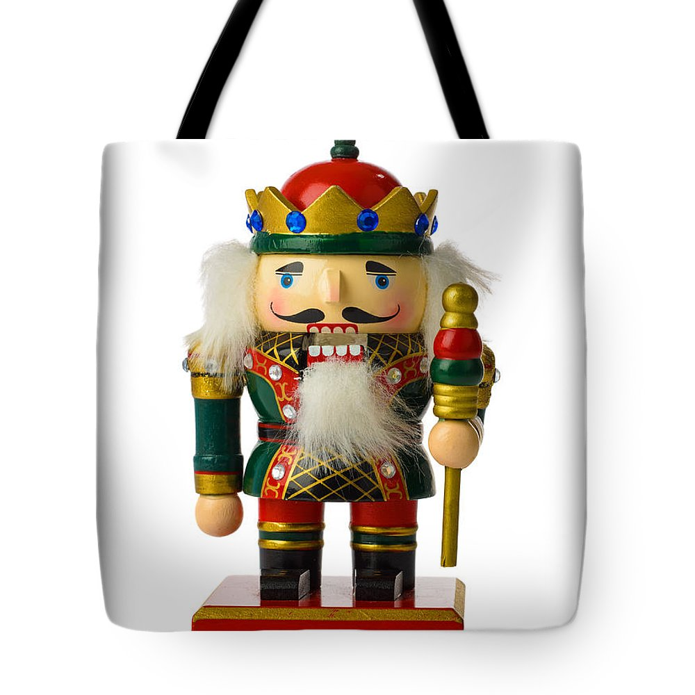 Nutcracker Tote Bag featuring the photograph The Nutcracker by Amanda Elwell