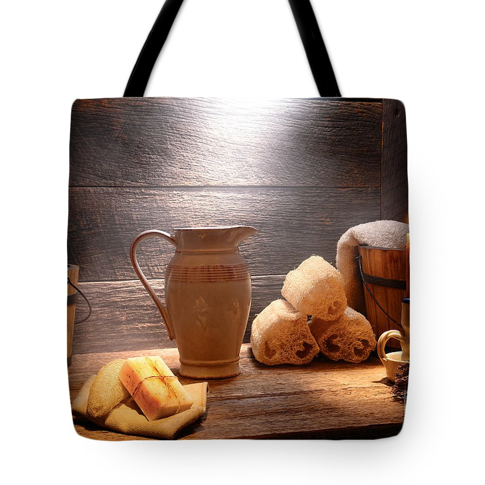 Pamper Photographs Tote Bags