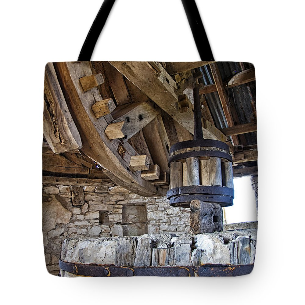 Mill Tote Bag featuring the photograph The Old Mill by Robert Murray