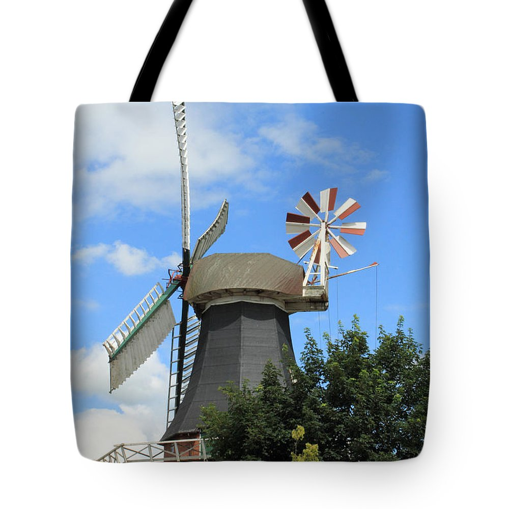 Mill Miller Blue Sky Tree Trees Summer Old Photograph Landscape Tote Bag featuring the photograph The Old Mill by Steve K