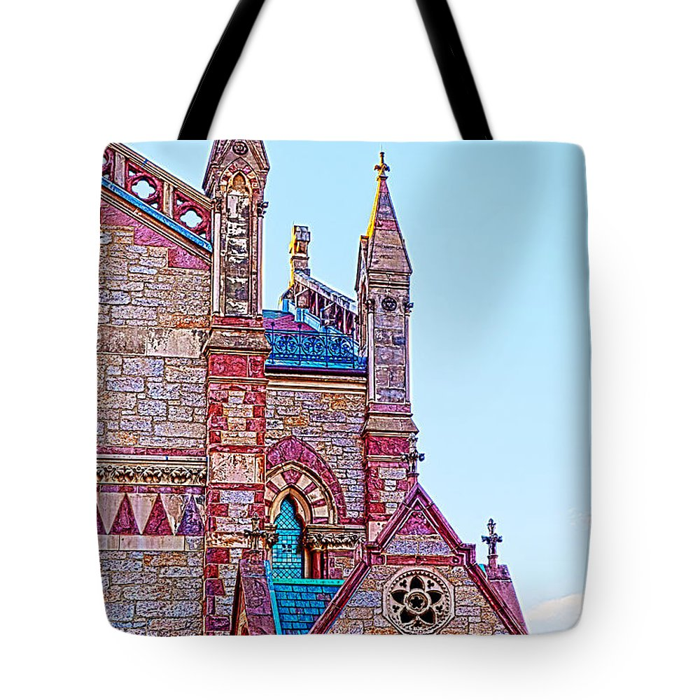 The Old South Church Boston Tote Bag featuring the photograph The Old South Church Boston by Michelle Constantine