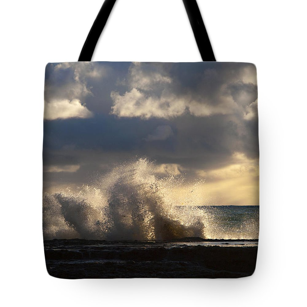 Catalina Channel Tote Bag featuring the photograph The Pacific Calms Down by Joe Schofield