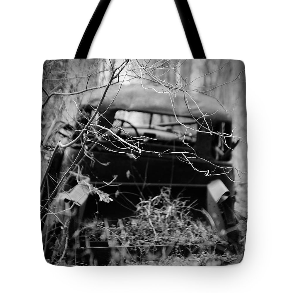 Amicalola Tote Bag featuring the photograph The Pick Up by Jost Houk
