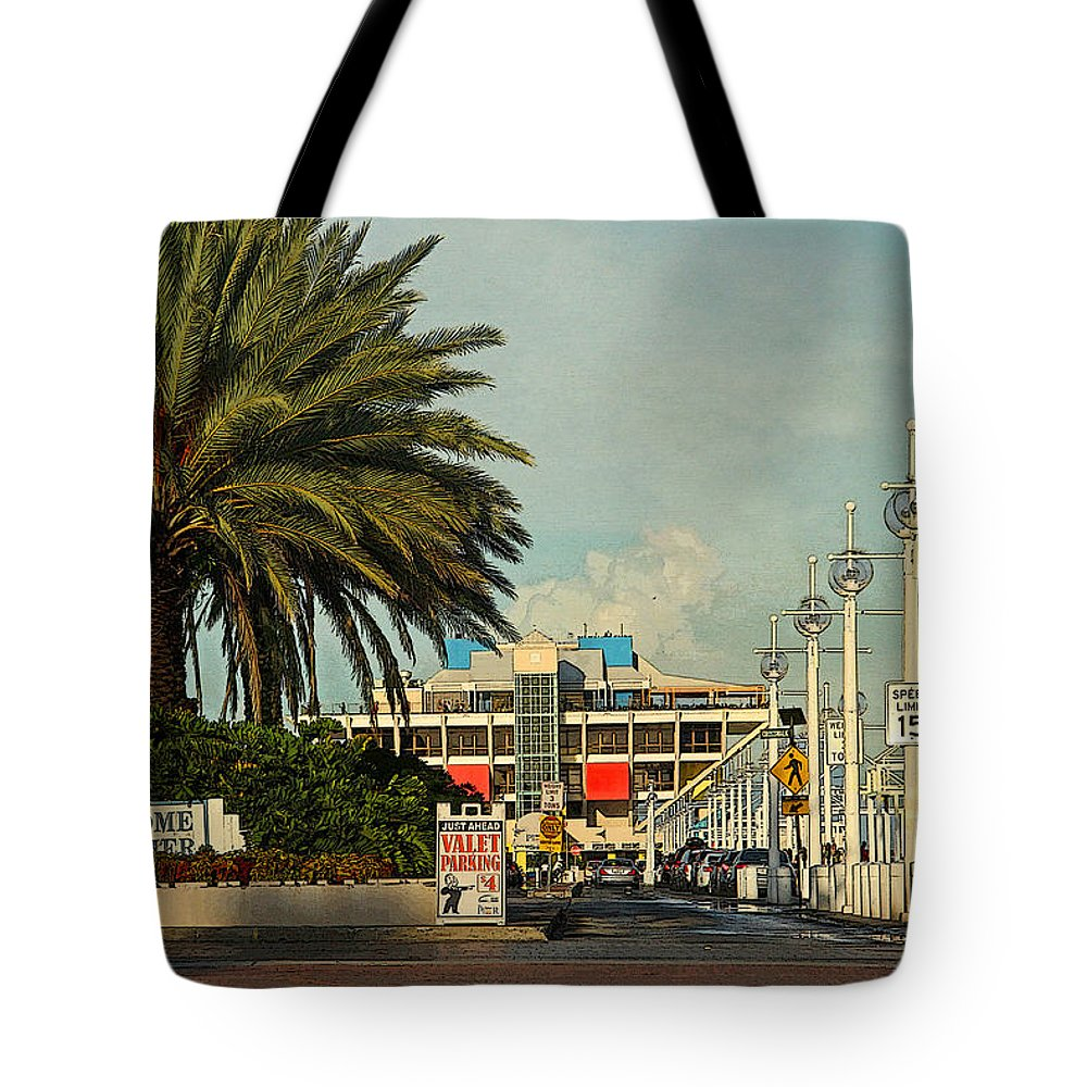 Hh Photography Of Florida Tote Bag featuring the photograph The Pier 2 - St. Petersburg Fl by HH Photography of Florida
