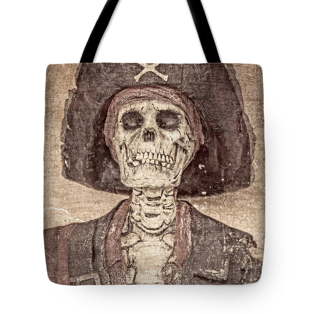 Pirate Tote Bag featuring the photograph The Pirate by Imagery by Charly