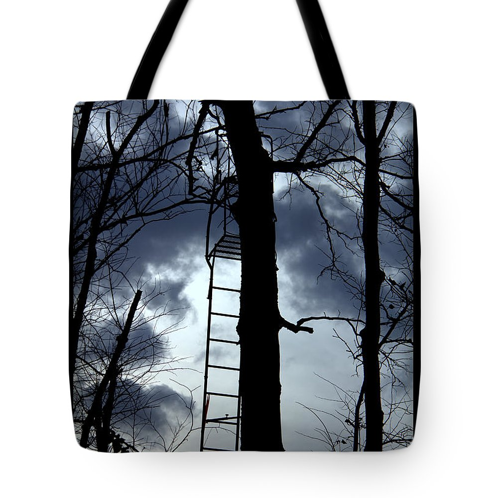 The Pirates Perch Tote Bag featuring the photograph The Pirates Perch by Ed Smith