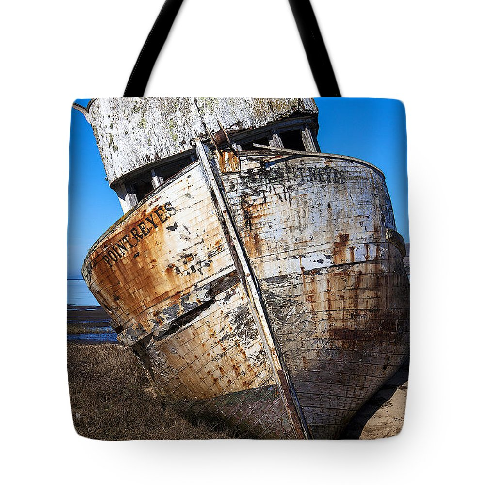 Old Tote Bag featuring the photograph The Point Reyes by Garry Gay