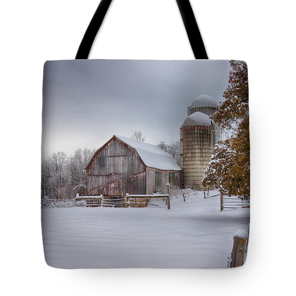 Scenic Vermont Photographs Tote Bag featuring the photograph The Quiet Respite by Jeff Folger
