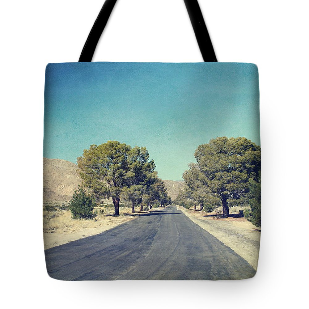 Galleta Meadows Tote Bag featuring the photograph The Roads We Travel by Laurie Search