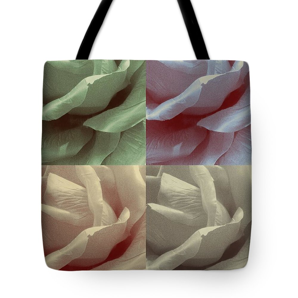 Roses Tote Bag featuring the photograph The Rose 3 by Lady Ex