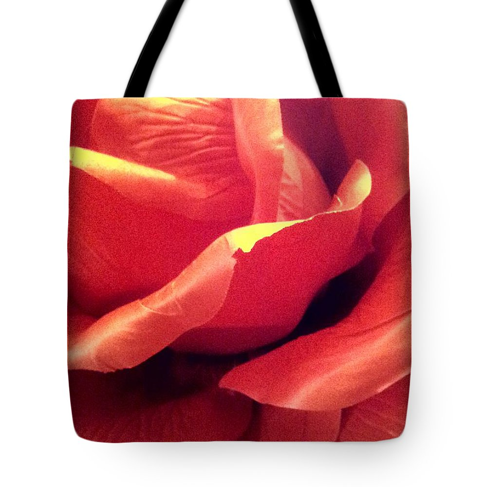Rose Tote Bag featuring the photograph The Rose 5 by Lady Ex