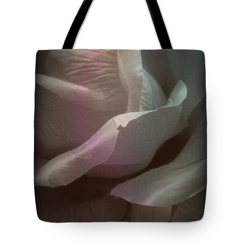 Rose Tote Bag featuring the photograph The Rose by Lady Ex