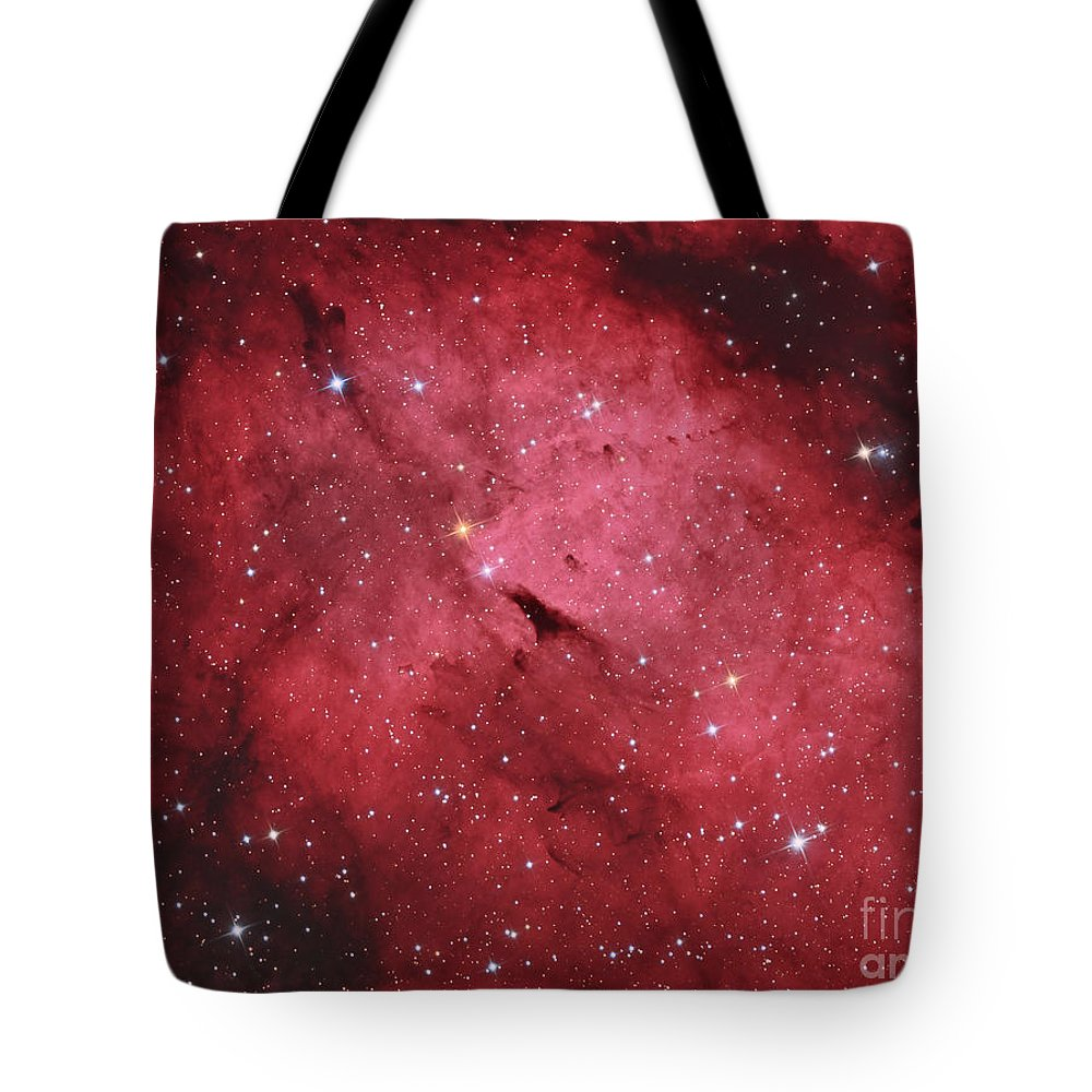 Night Tote Bag featuring the photograph The Sadr Region In The Constellation by Reinhold Wittich