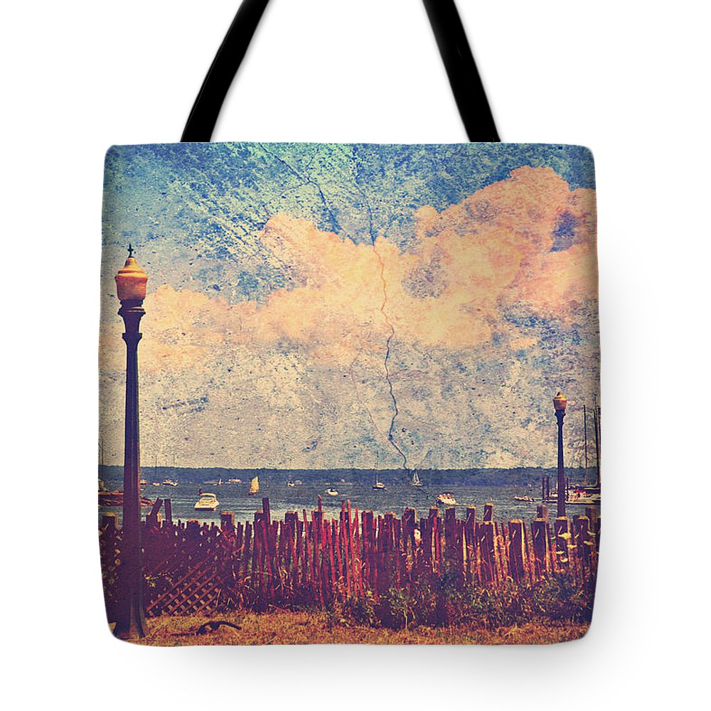 Mamaroneck Tote Bag featuring the photograph The Salty Air Sea Breeze In Her Hair Iv by Aurelio Zucco