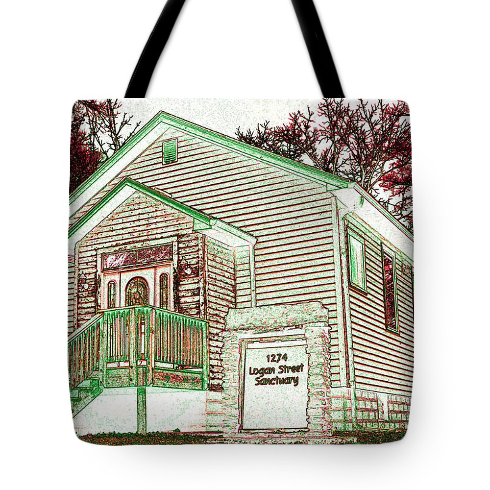 Featured Art Tote Bag featuring the photograph The Sanctuary 2 by Alys Caviness-Gober