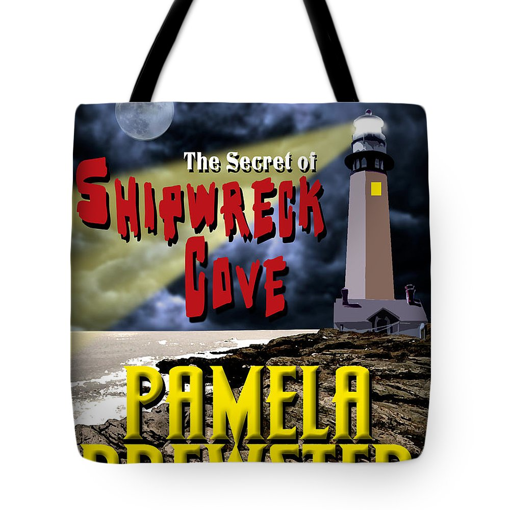 Book Cover Design Tote Bag featuring the photograph The Secret Of Shipwreck Cove by Mike Nellums