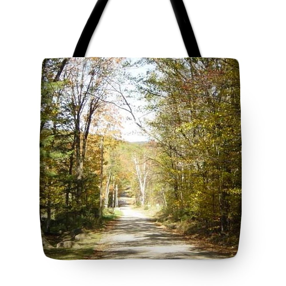 Tote Bag featuring the photograph The Serene Path by Brian S Boucher