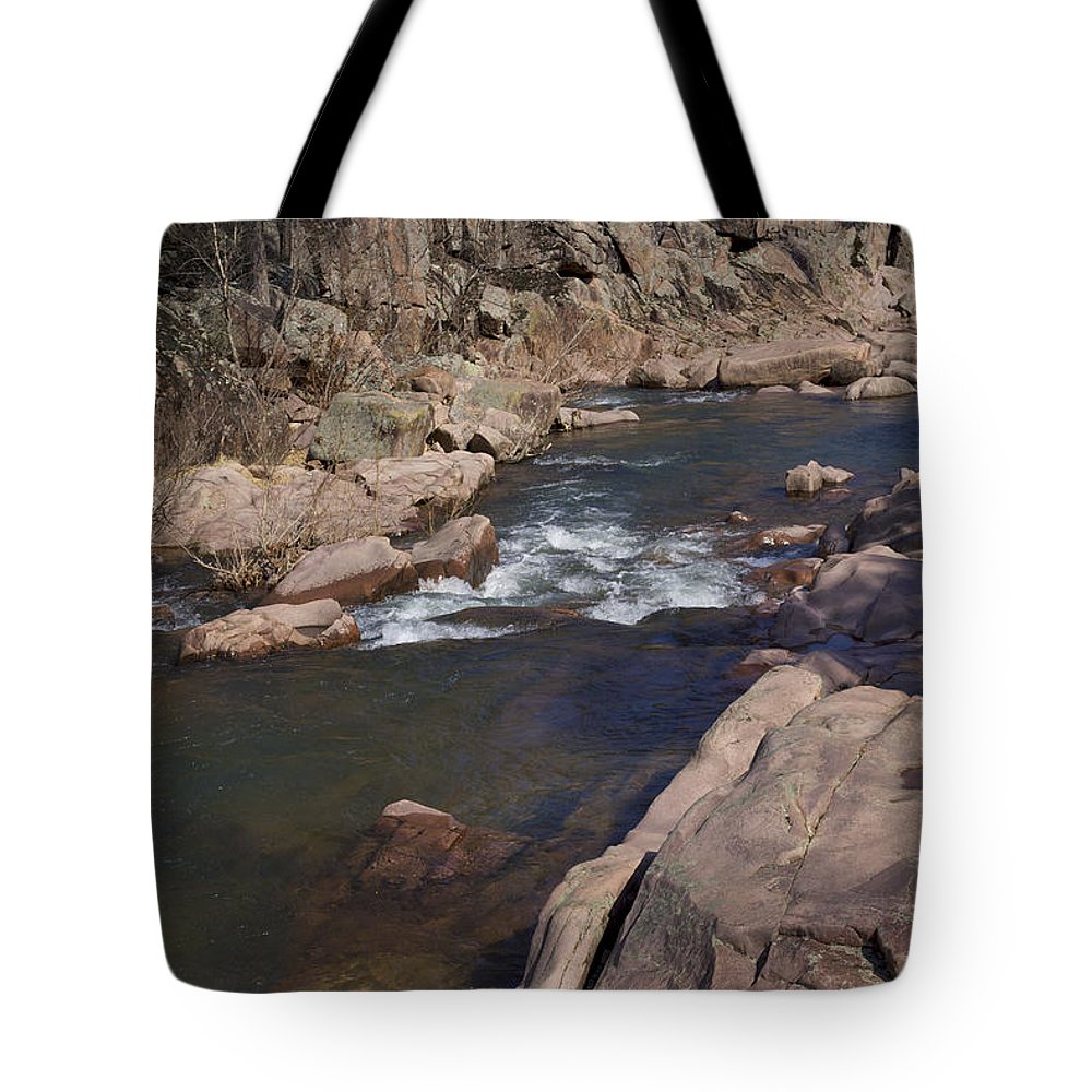 Amidon Tote Bag featuring the photograph The Shut Ins -nature Art Print by Jane Eleanor Nicholas