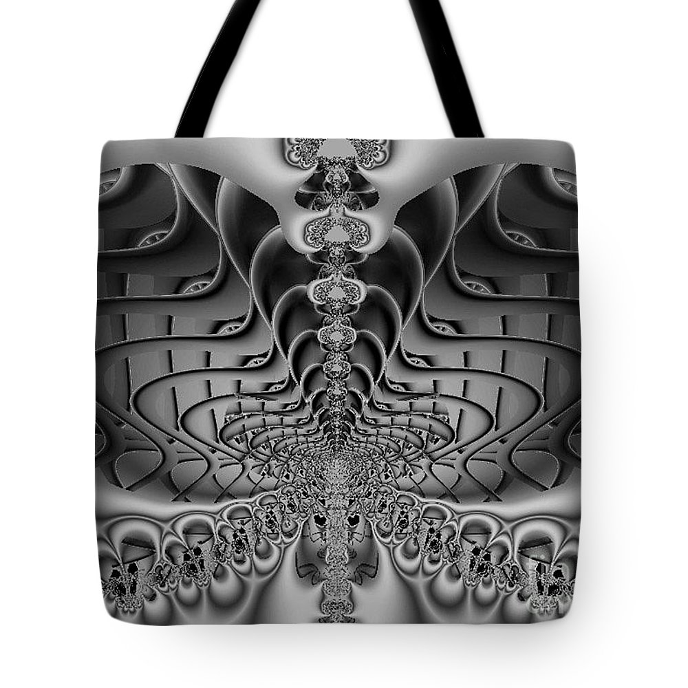 2-dimensional Tote Bag featuring the photograph The Sound by Dana Haynes