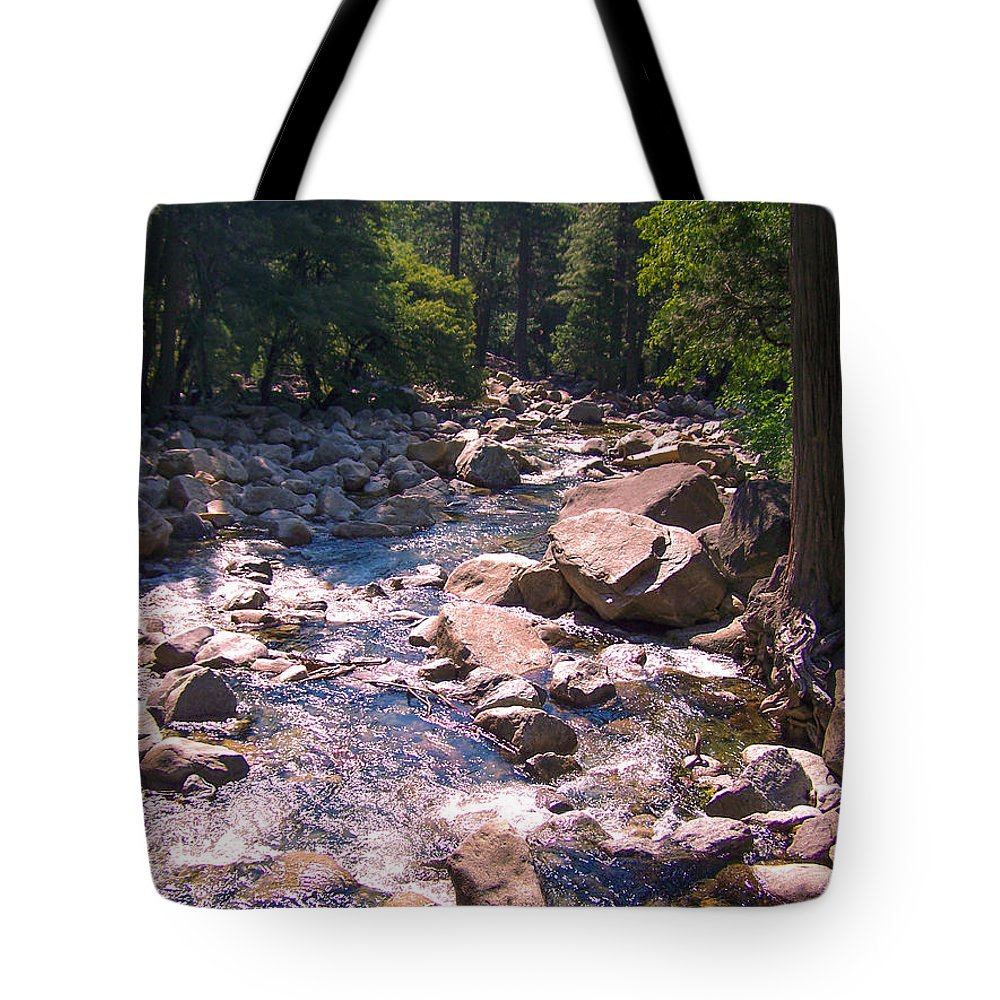 Yosemite Tote Bag featuring the photograph The Sound Of Silence by Dany Lison