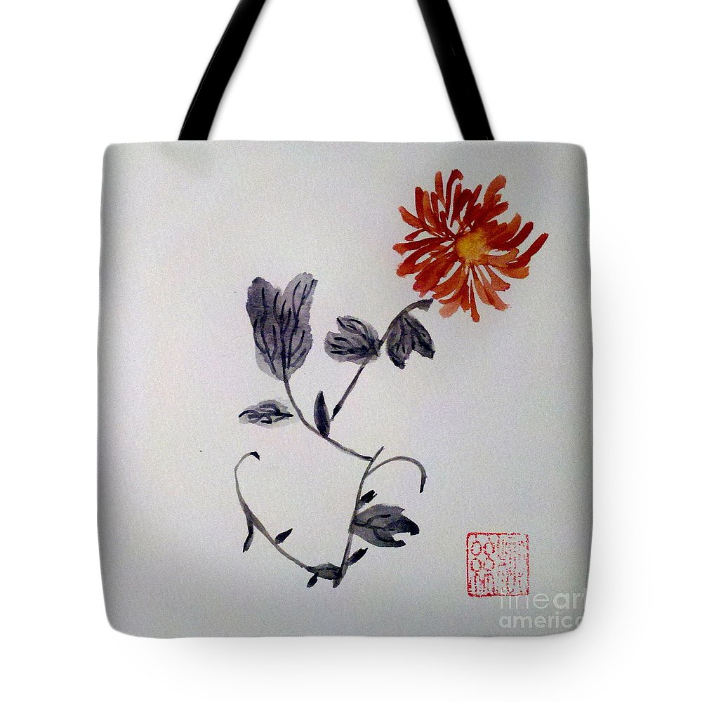 Autumn Tote Bag featuring the painting The Spirit Of Autumn by Margaret Welsh Willowsilk