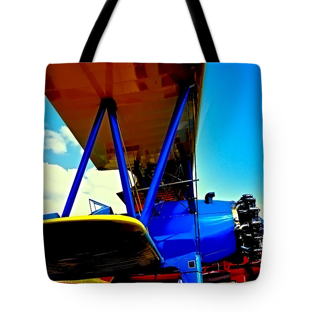 Boeing Stearman C-2 Tote Bag featuring the photograph The Stearman IIi by David Patterson