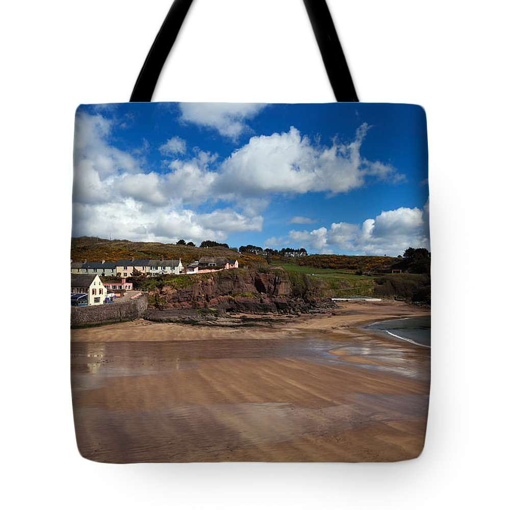 Dunmore East Photographs Tote Bags
