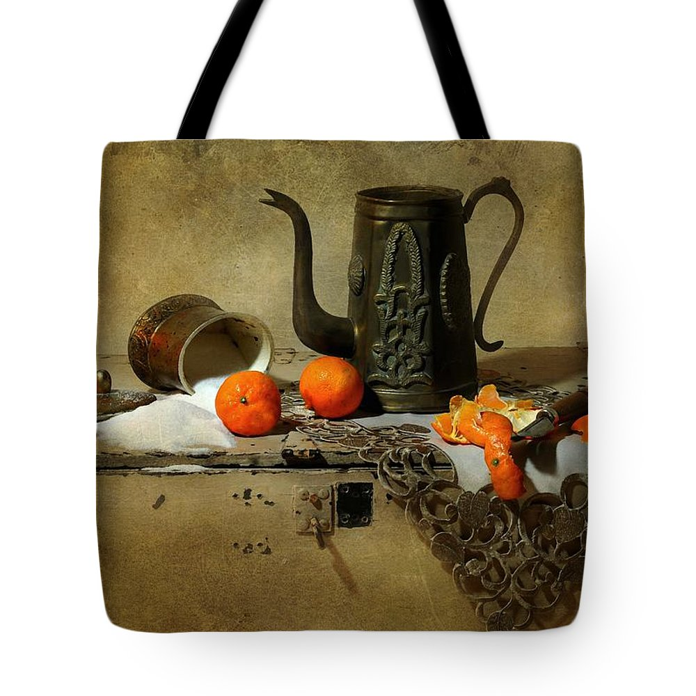 Still Life Tote Bag featuring the photograph The Sugar Bowl by Diana Angstadt