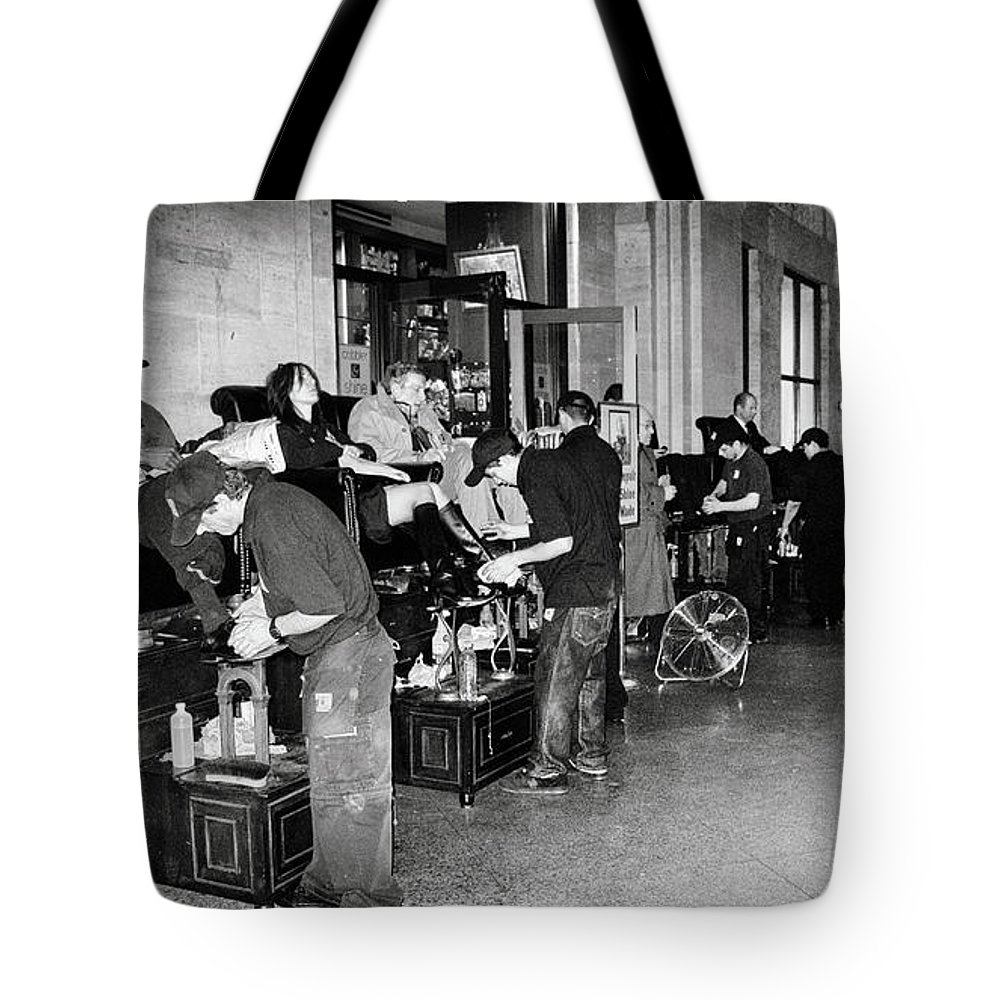 Subway Tote Bag featuring the photograph The Underground by Madeline Ellis