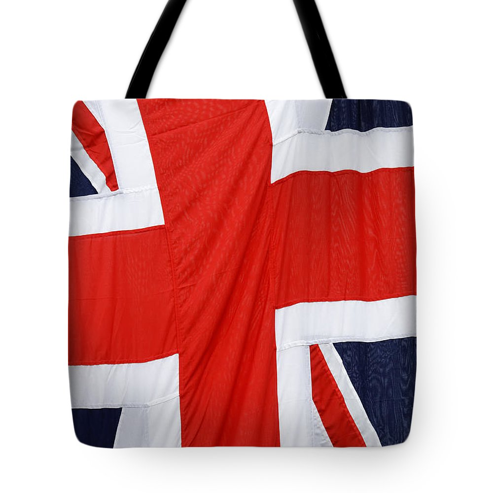 Flag Tote Bag featuring the photograph The Union Jack by Dutourdumonde Photography