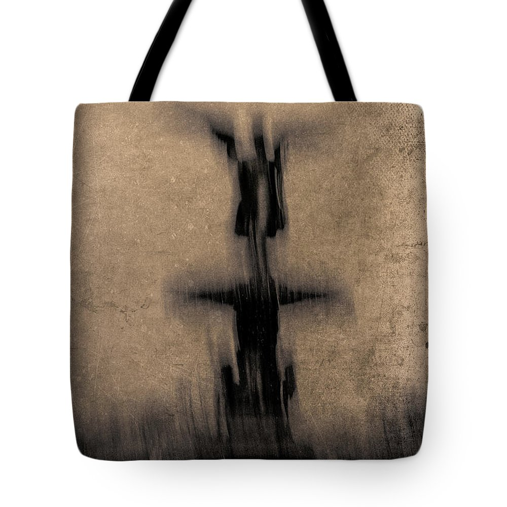 New York Tote Bag featuring the photograph Emma's Angel by Eric Ferrar
