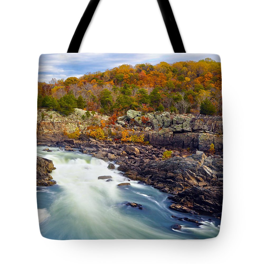 River Tote Bag featuring the photograph The Waters' by Mitch Cat