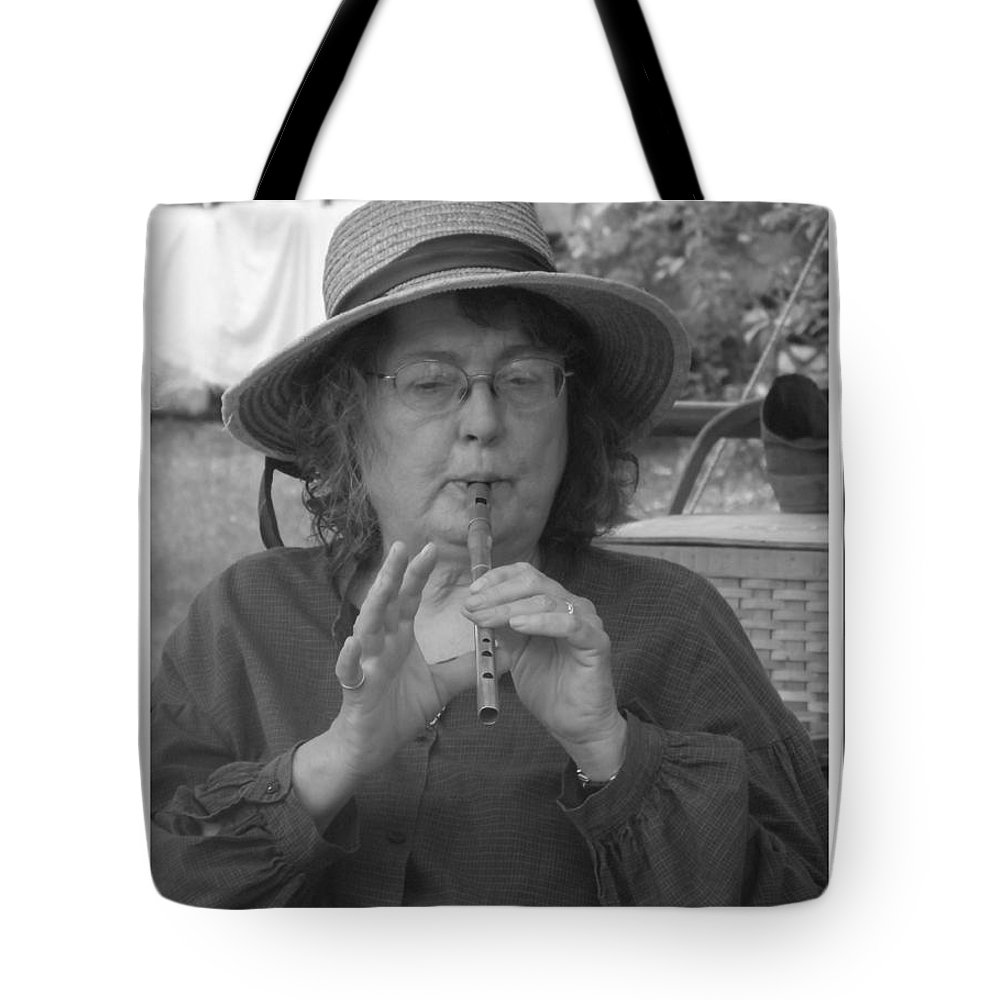 Whistle Player Tote Bag featuring the photograph The Whistle Player by Sara Raber