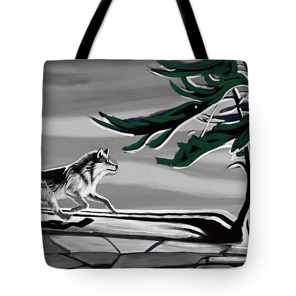 Wind Tote Bag featuring the photograph The Wind by Munir Alawi
