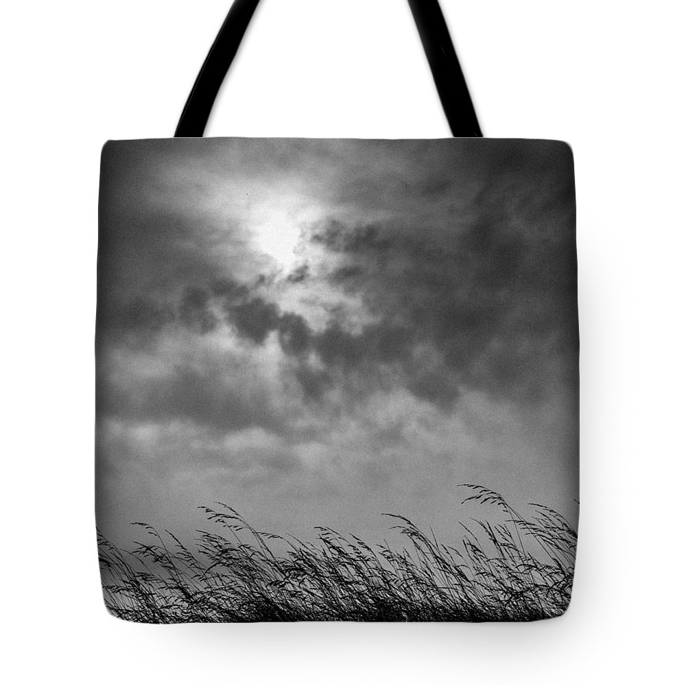 Black Tote Bag featuring the photograph The Wind That Shakes The Grass by Hakon Soreide