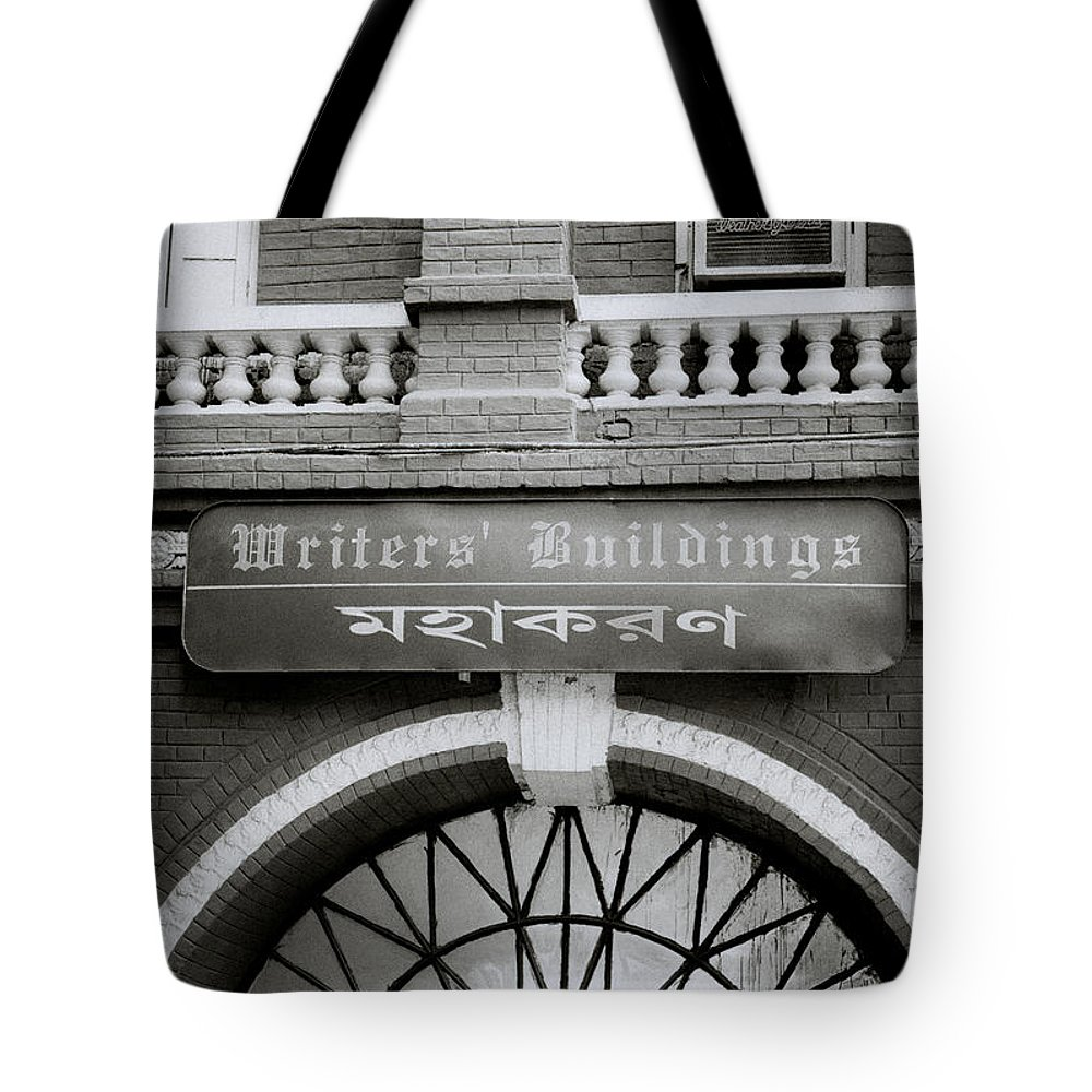 Calcutta Tote Bag featuring the photograph The Writers Buildings by Shaun Higson
