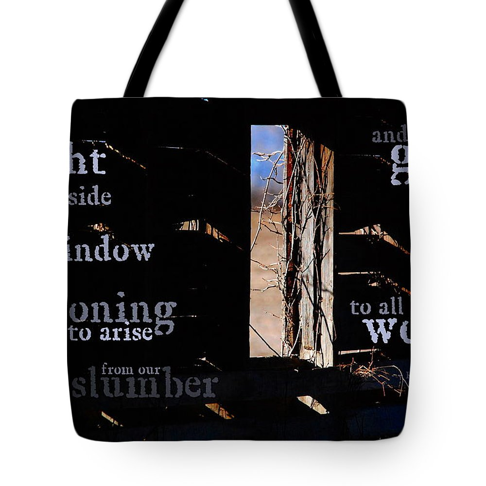 Light Tote Bag featuring the photograph There Is A Light by Kim Blaylock