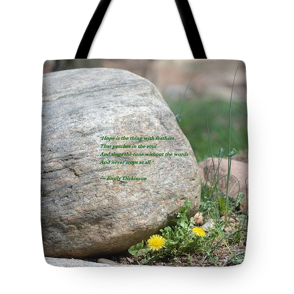 There Is Always Hope Tote Bag featuring the photograph There Is Always Hope by Sonali Gangane
