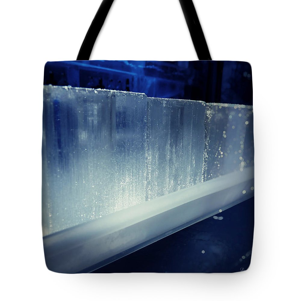 Lucinda Walter Tote Bag featuring the photograph These Ice Glasses Are Ready by Lucinda Walter