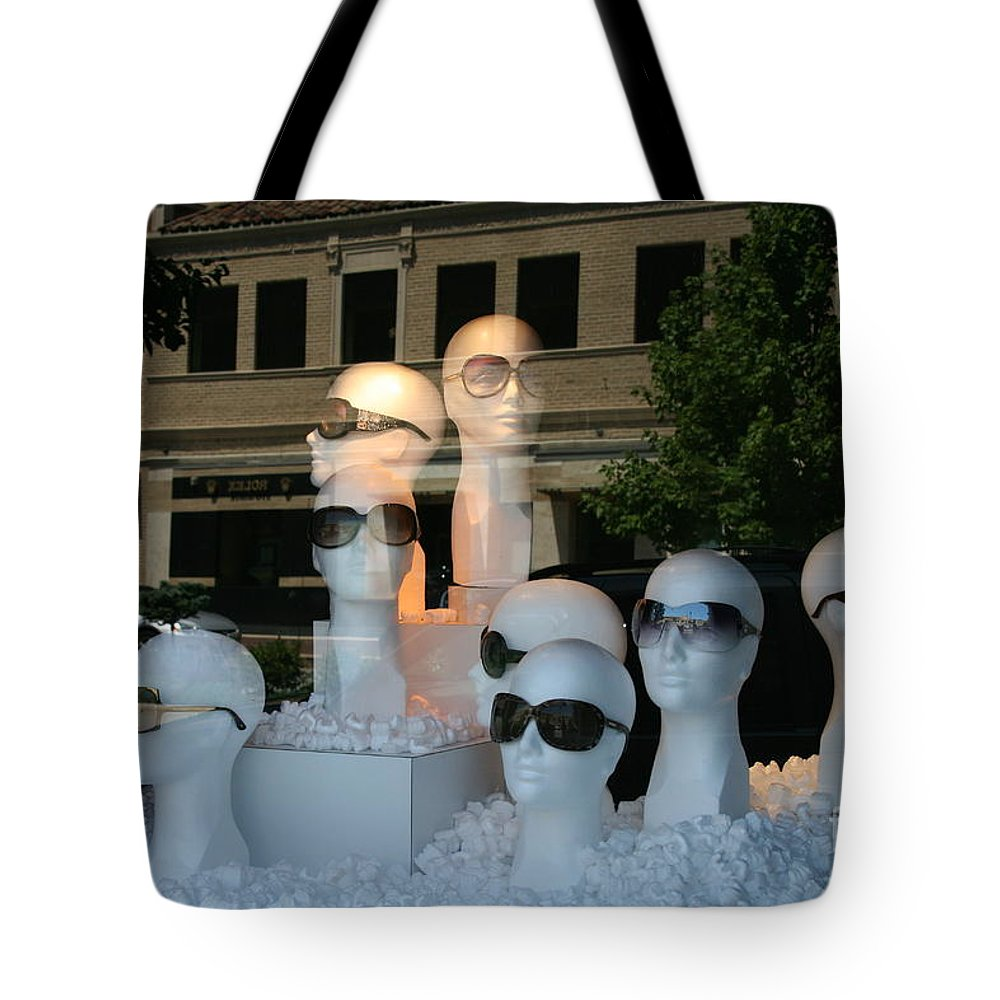 Kansas City Tote Bag featuring the photograph They're Watching by Crystal Nederman