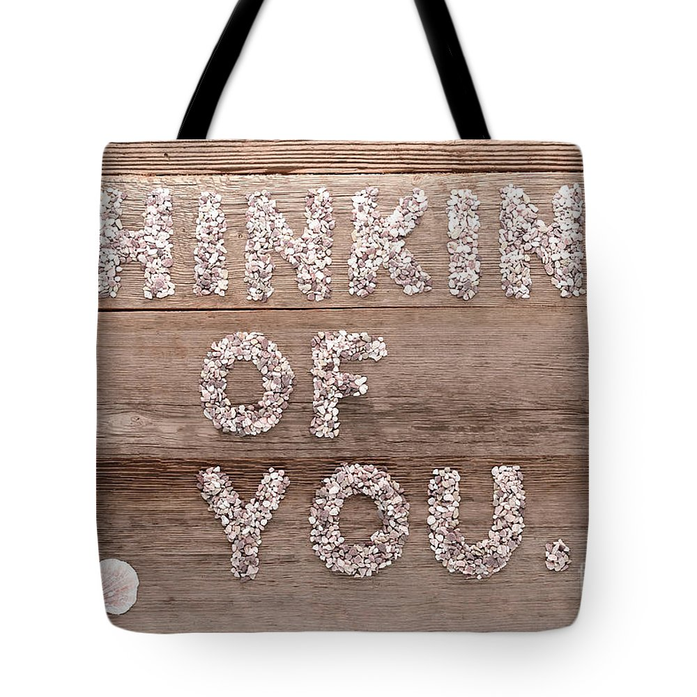 Thinking Of You Tote Bag featuring the photograph Thinking Of You by Olivier Le Queinec