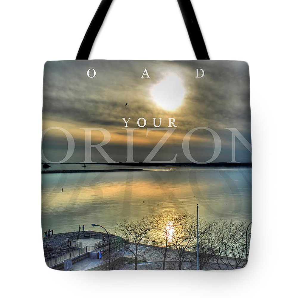 Optimism Tote Bag featuring the photograph Thinking Outside The Box by Michael Frank Jr
