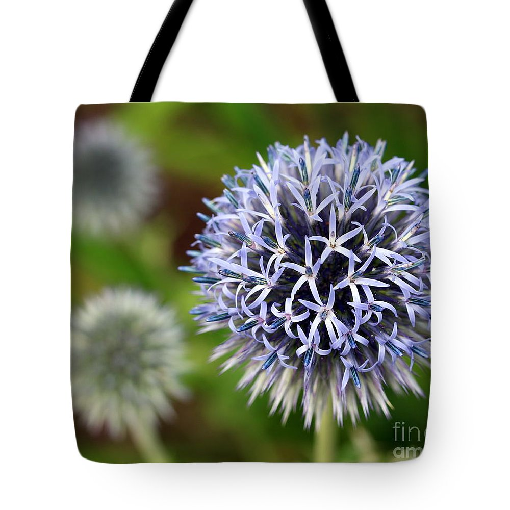 Thistle Tote Bag featuring the photograph Thistle Bloom by Kenny Glotfelty