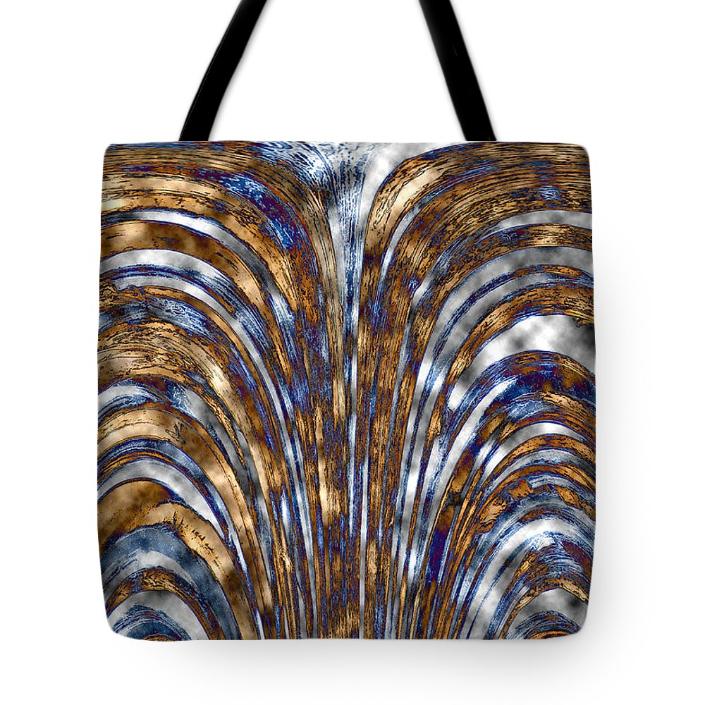 Digital Tote Bag featuring the photograph Those Golden Arches by Carolyn Marshall