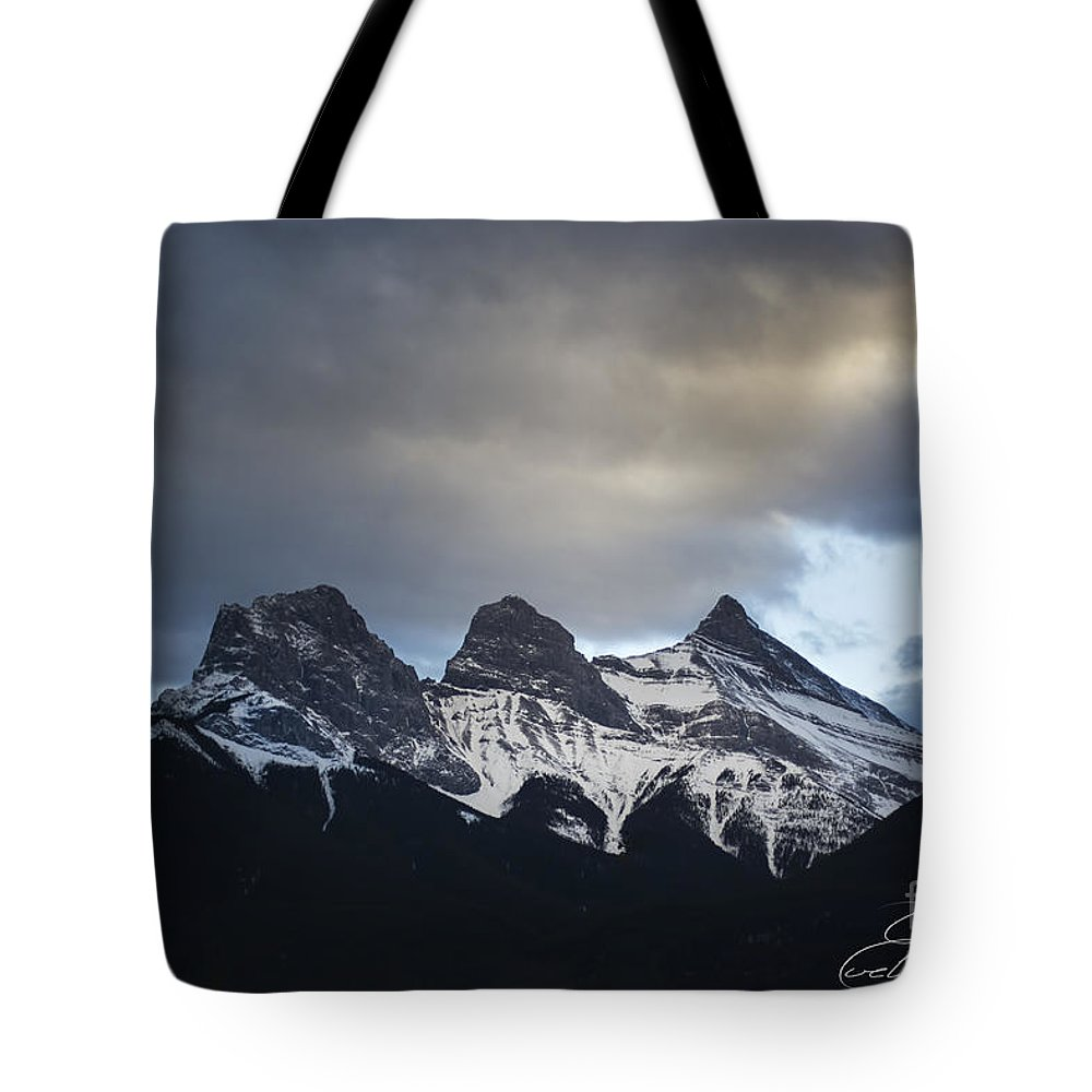 Three Sisters Tote Bag featuring the photograph Three Sisters - Special Request by Evelina Kremsdorf