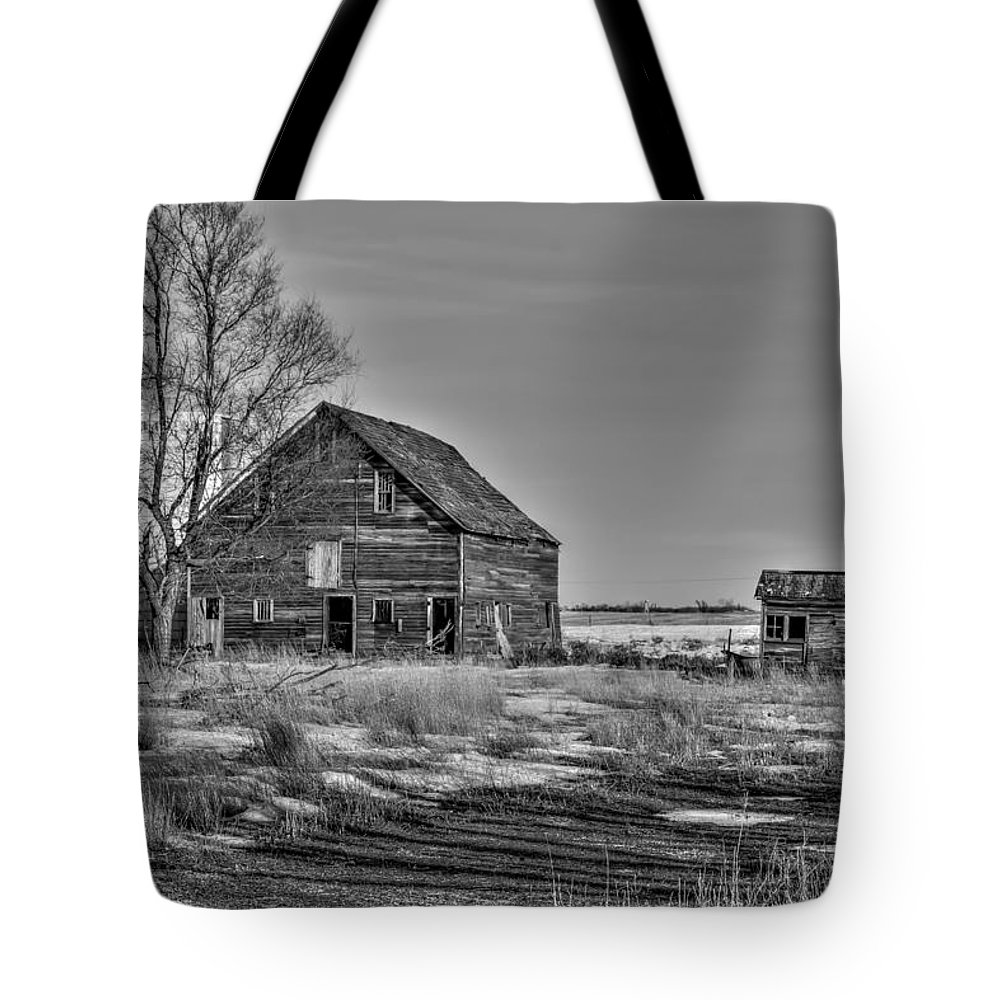 South Dakota Tote Bag featuring the photograph Three Views - 2 by M Dale