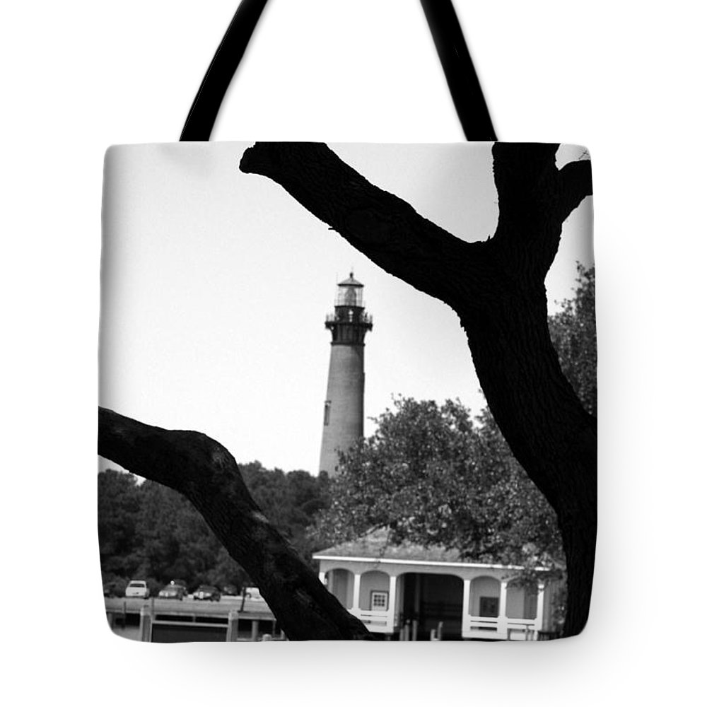 Tree Tote Bag featuring the photograph Through The Branches by IMH Photog