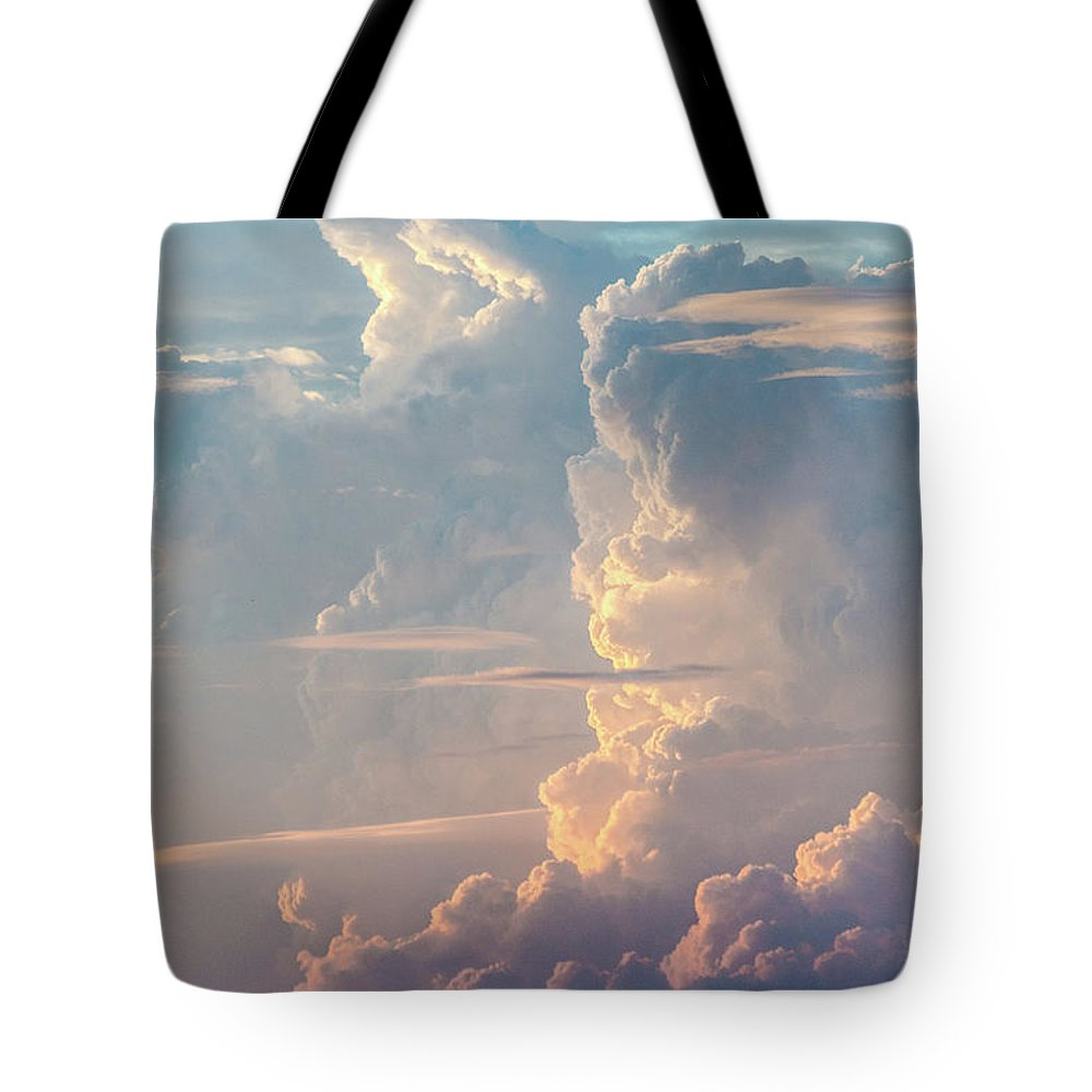 Tranquility Tote Bag featuring the photograph Thunder by Khh 1971