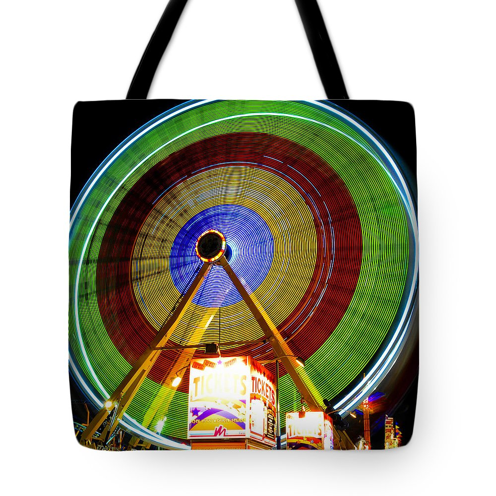 Florida State Fair Tote Bag featuring the photograph Tickets To Fun by David Lee Thompson