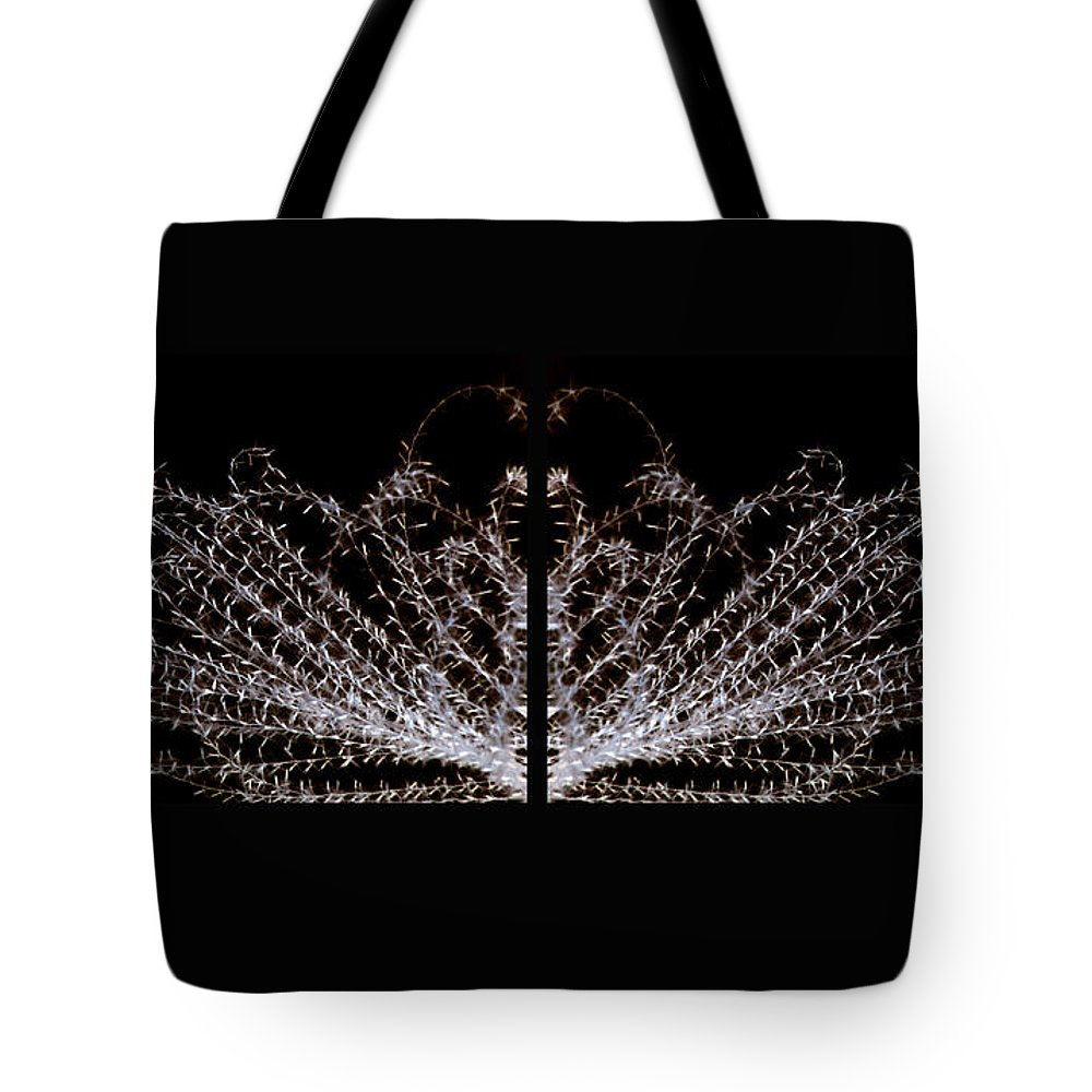 Grass Tote Bag featuring the photograph Ticklex2 by Carolyn Stagger Cokley
